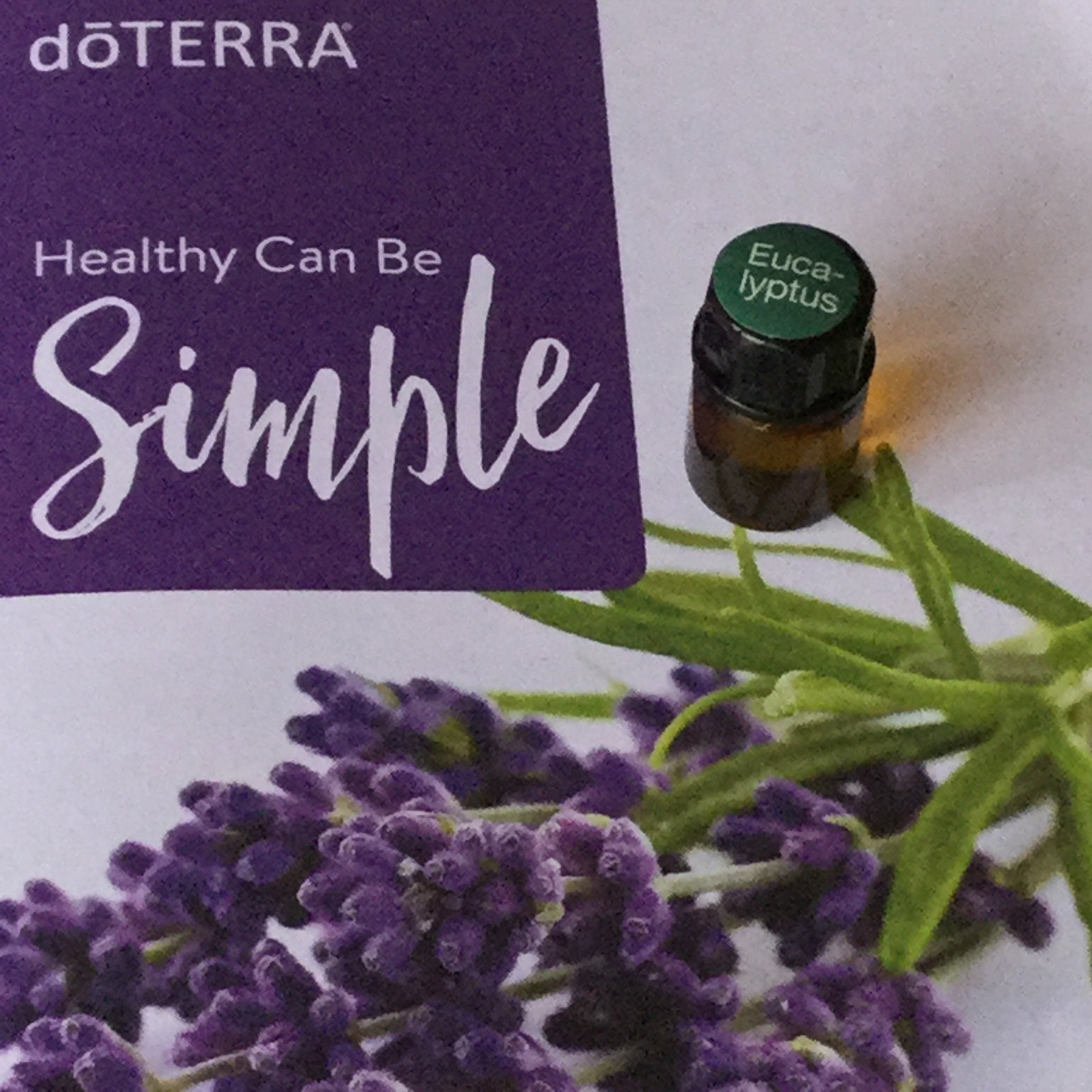 Oil: 2ml Eucalyptus dōTerra Essential Oil
