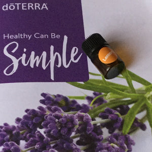 Oil: 2ml Lemon dōTerra Essential Oil