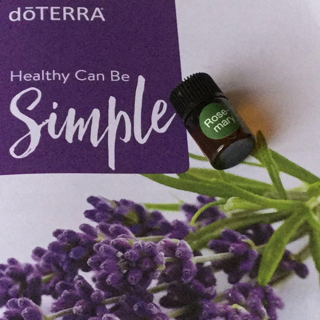 Oil: 2ml Rosemary dōTerra Essential Oil