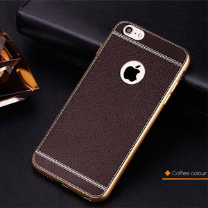 High Quality Luxury Leather iphone case