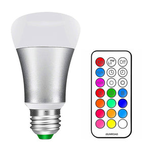 LED Light Bulb 12 Colors With Remote