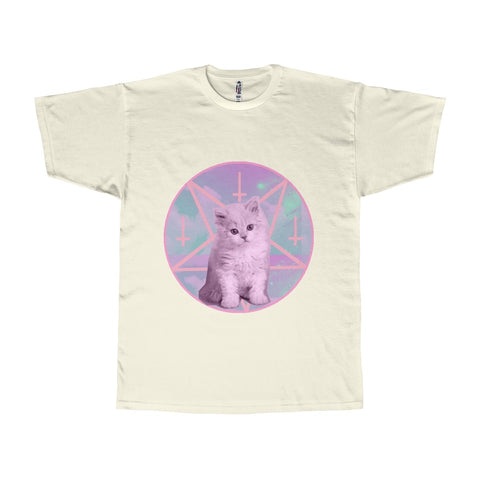 T-shirt Pentagram Cat - Alternative Fashion