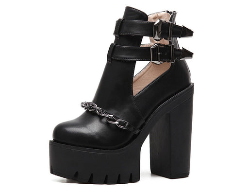 Roxanne Platform Boots - Alternative Fashion