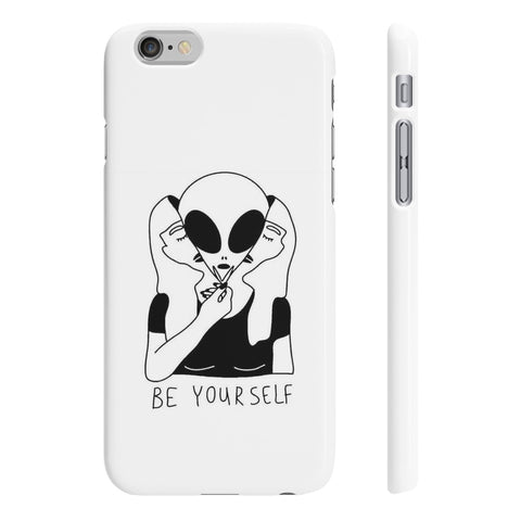 Be Yourself Wpaps Slim Phone Cases - Alternative Fashion