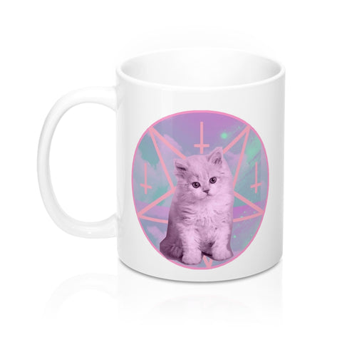 Mug Pentagram Cat - Alternative Fashion