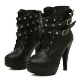 Doll Ankle Boots - Alternative Fashion