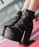 Higher Platform Boots - Alternative Fashion