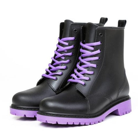 Purple Haze Booties - Alternative Fashion