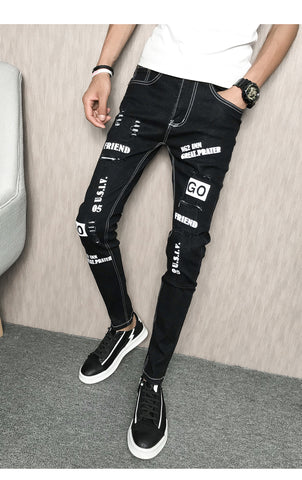 Men's Pants Slim Fit - Alternative Fashion
