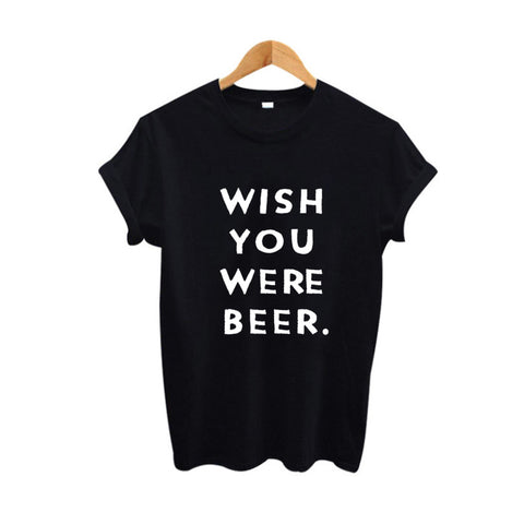 t-shirt Wish You Were Beer - Alternative Fashion