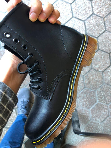Black Doc Martens Inspired - Alternative Fashion