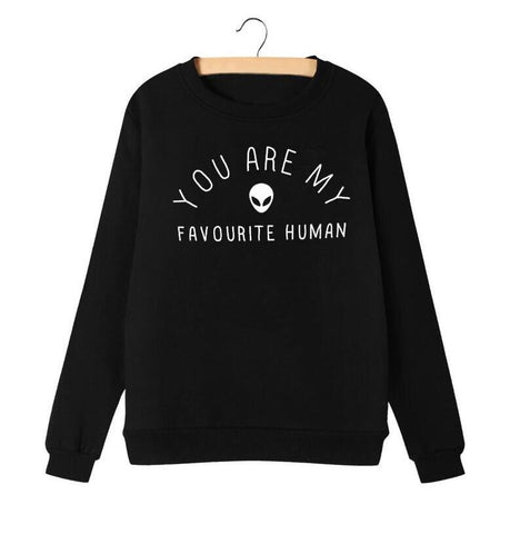 Pullover Fave Human - Alternative Fashion