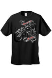 Men's/Unisex T Shirt Hog Heaven Shut Up and Ride - Alternative Fashion