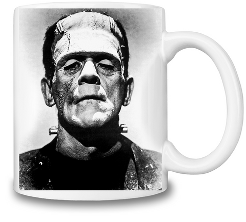 Frankenstein Portrait Coffee Mug - Alternative Fashion