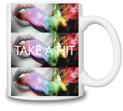 Take A Hit Coffee Mug - Alternative Fashion