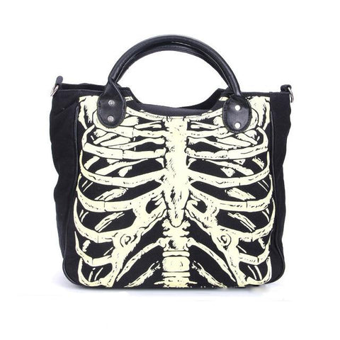 Bones Shoulder Bag - Alternative Fashion