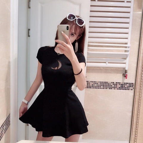 Moon Mini Dress - Alternative Fashion