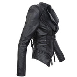 Faux Leather Jacket - Alternative Fashion