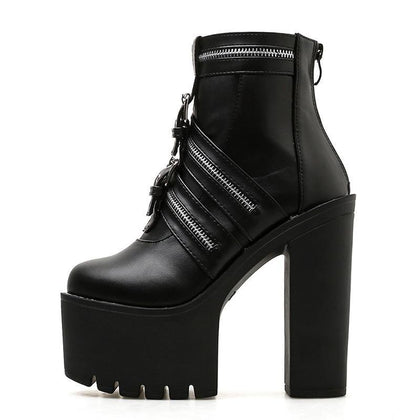 Gothic Boots Platform - Alternative Fashion