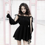 Gothic Mini Dress - Alternative Fashion