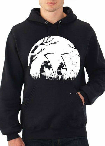 JUNGLE BLACK HOODIE - Alternative Fashion