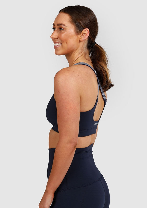 Juliet Sports Bra (Navy)