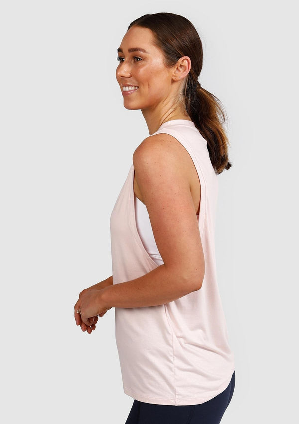 Free Flow Nursing Tank (Blush Pink)