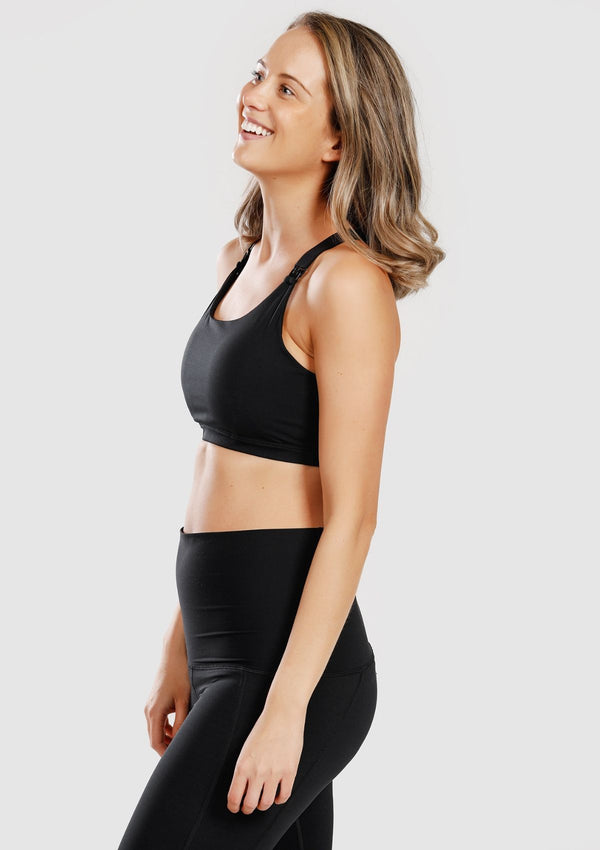 Juliet Sports Bra (Black)