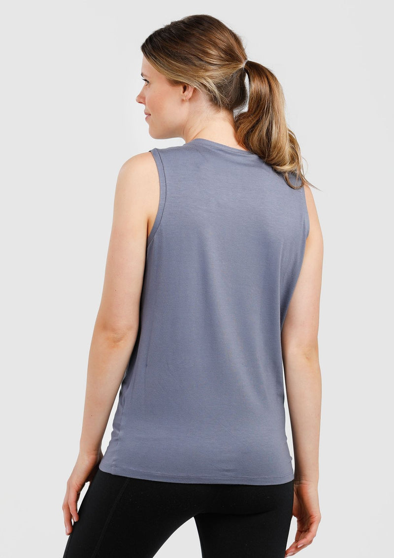 Cherish Me Nursing Tank (Dusty Blue)