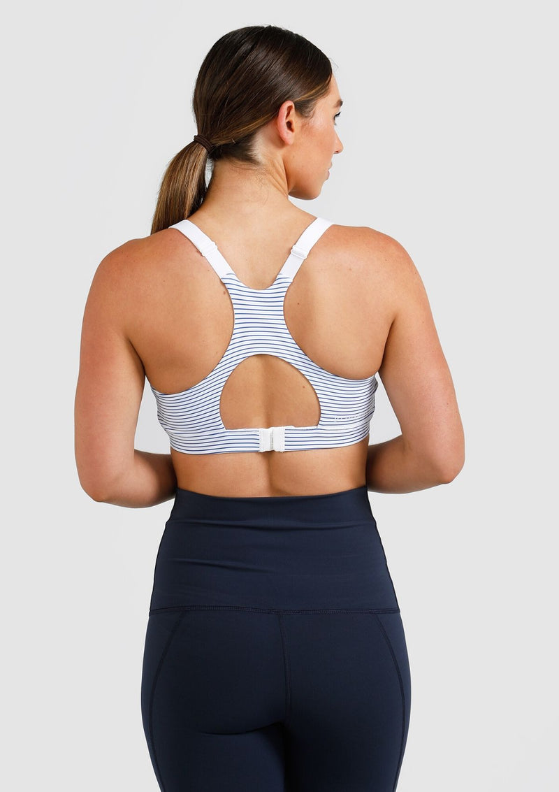 Sienna Nursing Sports Bra (Striped)