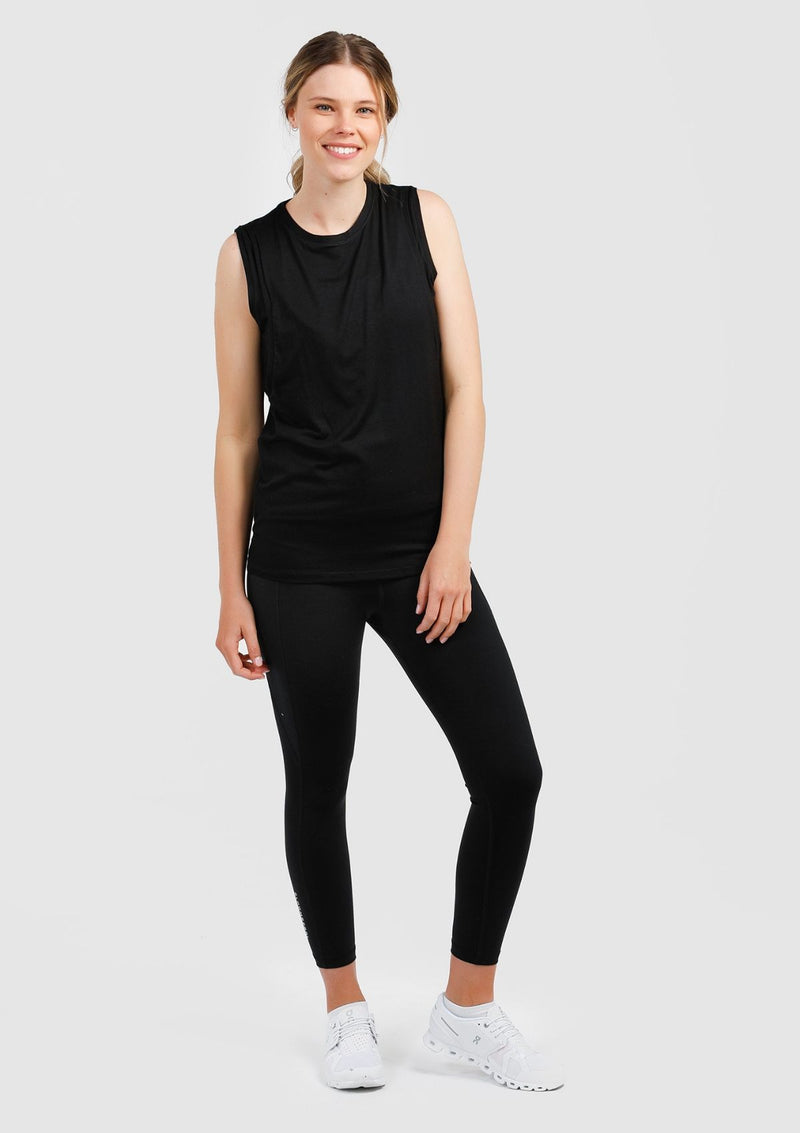 Cherish Me Nursing Tank (Black)