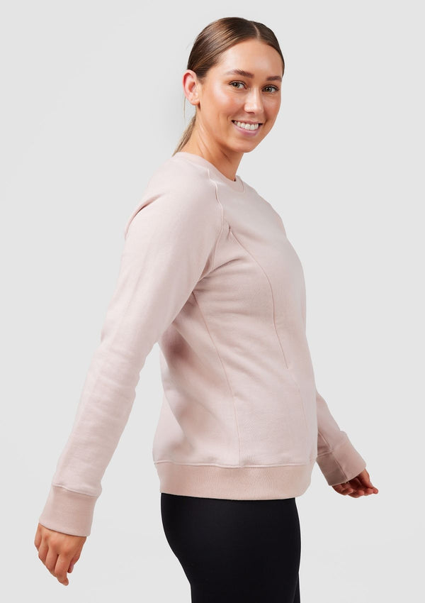 Everyday Nursing Crew Neck (Blush)