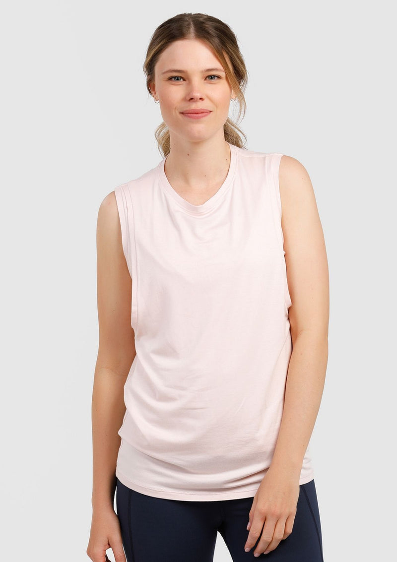 Cherish Me Nursing Tank (Blush Pink) (4299692671021)