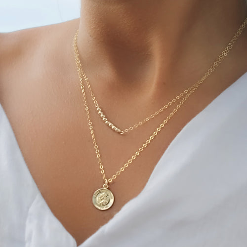 St. Christopher Pendant Necklace • B288