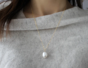 Single Baroque Pearl
