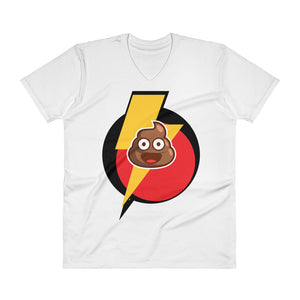 LightningPoo V-Neck T-Shirt