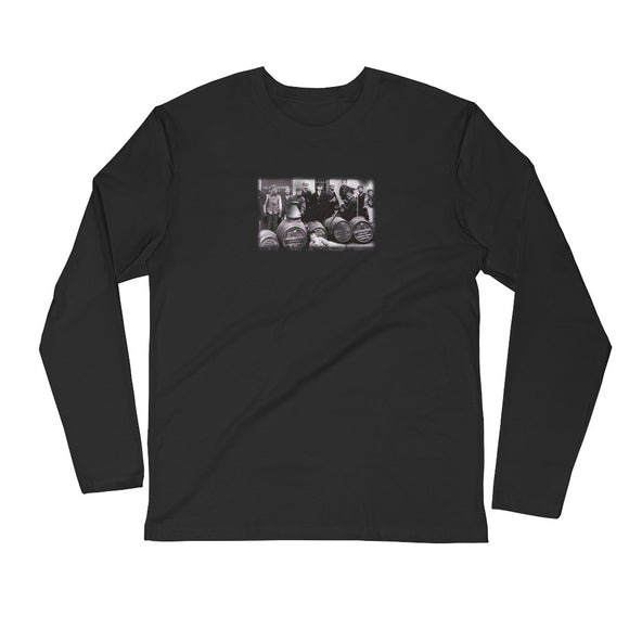 Scotch Boy - Long Sleeve Fitted Crew