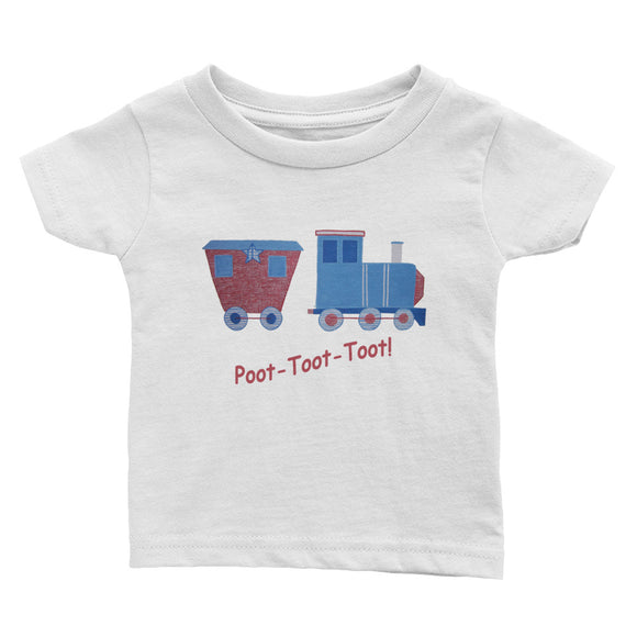 Poot-Toot-Toot - Infant Tee
