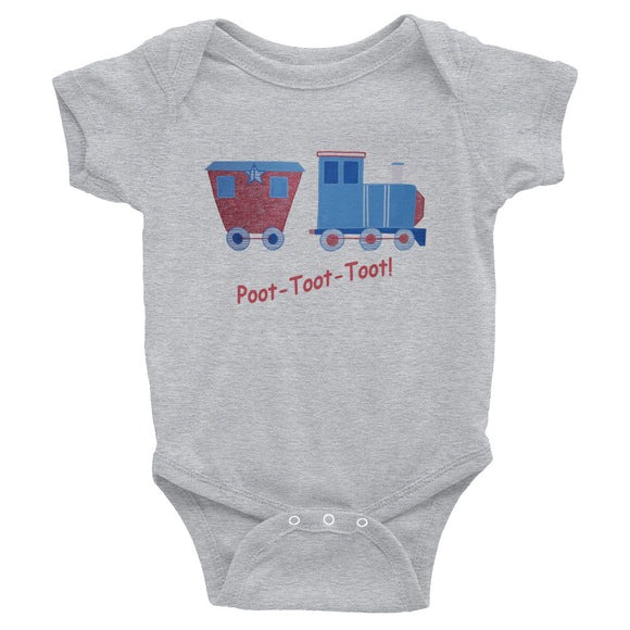 Poot-Toot-Toot - Infant Bodysuit