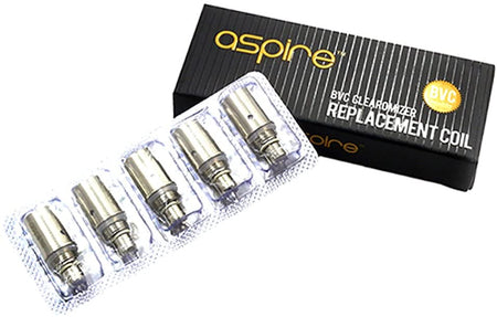 Aspire bvc coils - pack of 5