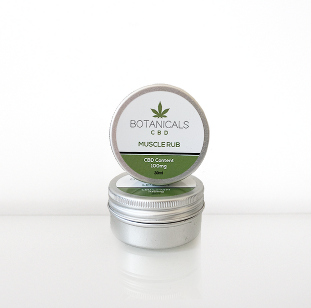 BOTANICALS CBD MUSCLE RUB