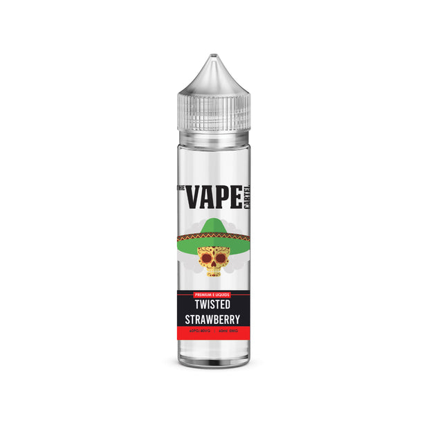 Twisted strawberry MTL (60ML)