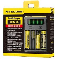 Nitecore Intellicharger NEW i4 V2 4-Slot Charger