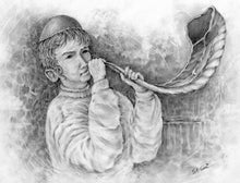 A Boy And Horn