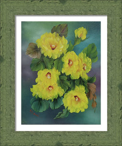 Yellow Peonies