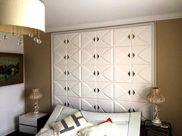 3D Leather  Panels   For Walls and Ceilings  Lightweight & Beautiful