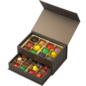 24 Assorted Truffles (Magnetic Closure)