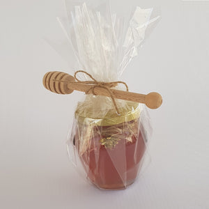 260g Gift Wrapped Natural Raw WA Honey Jar