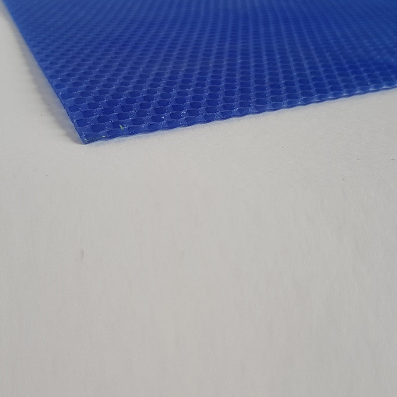 Wax sheets for candle making - Blue