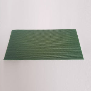 Wax sheets for candle making - Green
